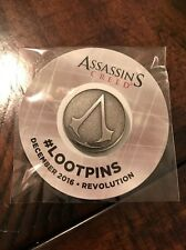 ASSASSINS CREED Pin Loot Crate Revolution Assassin's Lootpin December 2016