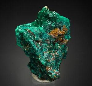 DIOPTASE - thumbnail - lustrous crystals CONGO !! /ay179