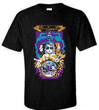 Fuzz Tour Psychedelic rock band Moon Duo Thee Oh Sees Black T-shirt S M L XL 2XL