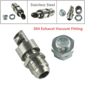 E-VAC Scavenger Kit Stainless Steel Include 304 Exhaust Vacuum Fitting Vent Pipe