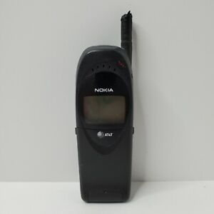 Nokia Model #6162 Type NSW-3AF Flip Phone - AT&T - Untested - Not Mint