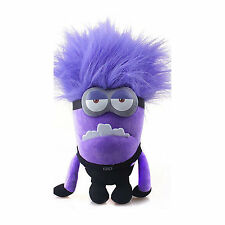 "Evil Minion Despicable Me Character 12"" Inch Soft Plush  Stuffed 3D Toy"