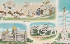 "*Iowa Postcard-""In All That Is Good, Iowa Affords The Best"" (U1-IA5)"