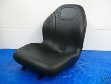 BLACK HIGH BACK SEAT JOHN DEERE 670,770,790,870,970,990,1070,3005,TRACTOR #LH