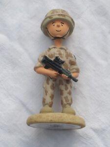 SQODDITIES Figur  ,Gulf War, Baghdad Bill, englischer Soldat in Desert Uniform