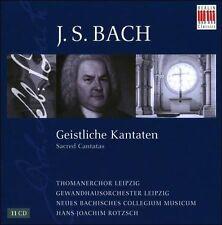 NEW J.S. Bach: Sacred Cantatas (Audio CD)
