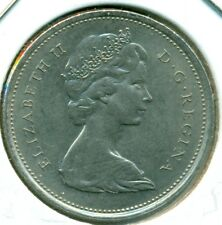 1969 CANADA TWENTY-FIVE CENTS, CHOICE BRILLIANT UNCIRCULATED, GREAT PRICE!