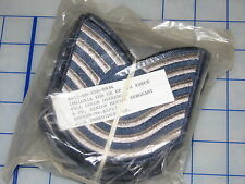 airforce senior master sargent patch lot of 6 pair rank sew NOS USAF insignia 91