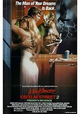 A Nightmare On Elm Street 2 Freddy's Revenge - A4 Laminated Mini Movie Poster