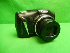 Canon PowerShot SX130 IS 12.1MP Digital Camera - Black Tested and Working