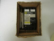 New! Square D Molded Case 2 Pole 100 Amp Circuit Breaker Fhl26000M4200