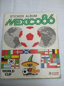 Panini World Cup Mexico 86 - Football Sticker Album. 100% Complete Full Set. VG