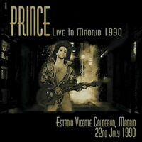 PRINCE-LIVE IN MADRID 1990-IMPORT 2 CD WITH JAPAN OBI G27