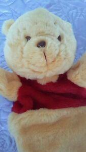 Poo bear hand puppet new