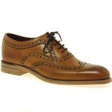 Loake Men's Calf Leather Fearnley Brogues Tan UK 7