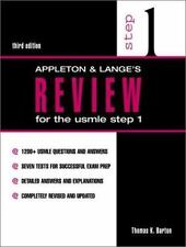 Appleton and Lange Review: Appleton and Lange's Review for the USMLE : Step 1 b…