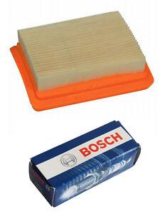 Luftfilter + Zündkerze  passend zu Stihl FS 300  FS 350 Freischneider