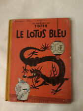 Album de TINTIN le lotus bleu B29 de 1960/61  bon état