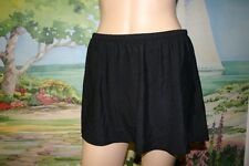 BUILD YOUR OWN SWIMSUIT 20W BLACK SWIM SKIRT 20 HIDES HIPS & THIGHS JUST MY SIZE