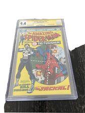 Amazing Spider-Man 129 CGC 9.4 SS Gerry Conway & John Romita 1st App. Punisher
