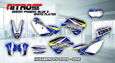 HUSABERG Graphics Kit Decals Design Stickers FS 450 570 2009 2010 2011 2012 MX