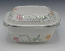 VILLEROY & BOCH W.GERMANY ALBERTINA BAKER CASSEROLE MICROWAVE WITH LID 2 QTS