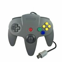 Gray N64 Gamepad Controller (for Nintendo 64) Tight Joystick Free Ship