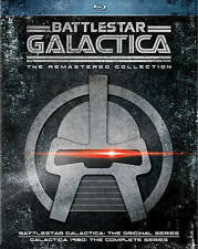 Battlestar Galactica: The Remastered Collection - 8 Discs (Blu-ray) Vg