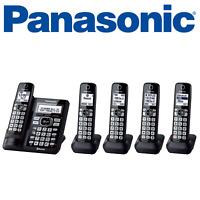 Panasonic KX-TG785SK 1 DECT 6.0 5 Handset Cordless Phone System
