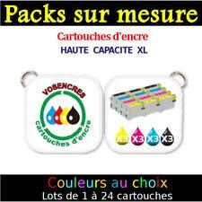 12 Cartouches Vosencres compatible epson non-oem T0711 T0712 T0713 T0714-T0715