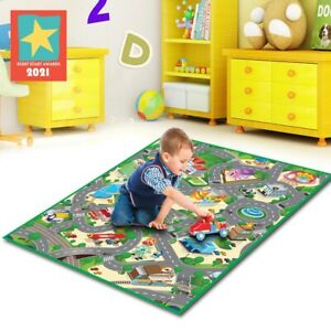 Eduk8 City Play Mat - Kids Children's Educational Toy Floor Gym (120x100 cm)