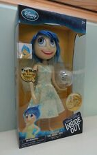 Disney Store Joy Deluxe light Up Talking Doll Pixar Inside Out 25cm BNIB
