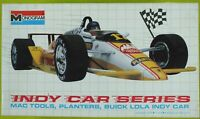 MONOGRAM 1/24 MAC TOOLS PLANTERS BUICK LOLA INDY CAR SERIES VINTAGE 1989