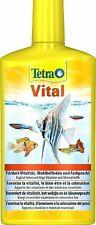 Tetra Vital Vitamine Mineralien und Spurenelemente Süßwasser Pflege 500ml Neu