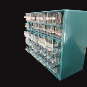 Drawer Type Plastic Wall Mounted Box Tool Parts Garage Unit Shelving Organizer