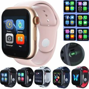 Bluetooth Smart Watch Heart Rate Bracelet Support SIM Card For Android Men Women