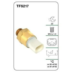 Tridon Fan switch TFS217 fits BMW 3 Series 318 is (E30) 100kw, 318 is (E36) 1...