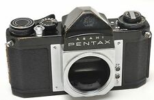 BLACK Asahi Pentax SV 35mm Film Camera Body