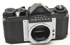 BLACK Asahi Pentax SV 35mm Film Camera Body