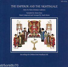 The EMPEROR And The NIGHTINGALE CD Audio Talking Book Glenn Close - Mark Isham