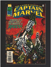 CAPTAIN MARVEL #3 THE UNTOLD LEGEND OF 1ST PRINT MARVEL COMICS (1997) LOT B