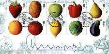 2003 frutta e verdure - - Bradbury sovrano UFFICIALE-FIRMATA DA A. Worrall Thompson