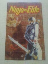 Ninja Elite #3 October 1987 Adventure Comics
