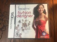 Imagine Fashion Designer (Nintendo DS Game) - Complete Tested Guaranteed