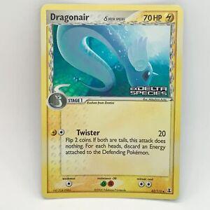 Dragonair 42/113 Reverse Holo - EX Delta Species - Pokemon Card - EXC / NM