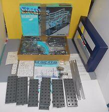 Bandai Spacewarp Space Warp 1985 Set Blue Wings Futuristic Roller Coaster Unbuil