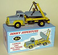 Camion UNIC Multibenne Marrel  - ref 38 A / 38A au 1/43 de dinky supertoys atlas