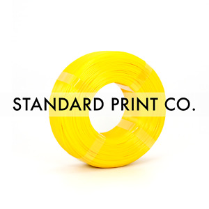 3D Printer Filament PETG Yellow 1.75mm 1KG - Standard Print Co.
