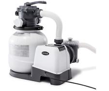 New listing Intex Krystal Clear Sand Above Ground Pool Filter Pump 12-inch, 110-120V w/ Gfci