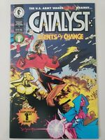 CATALYST: AGENTS OF CHANGE #1-5 (1994) DARK HORSE FULL SET! JASON PEARSON COVERS